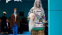 Fashion Week de Milan: la mode perd la tête au défilé