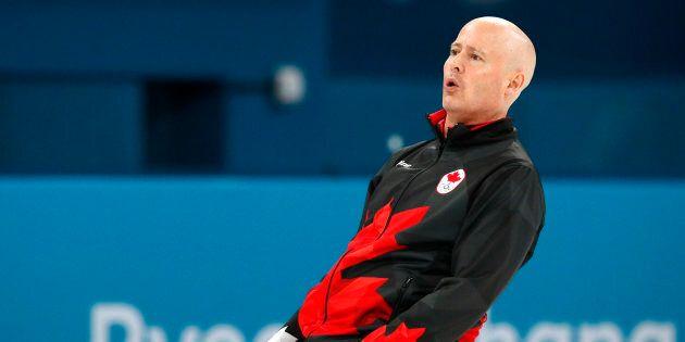 Le Canada ne peut plus espérer mieux que le bronze en curling masculin aux Jeux