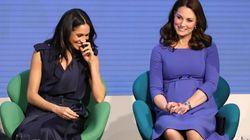 Quand Meghan Markle et Kate Middleton coordonnent leurs tenues et ont du
