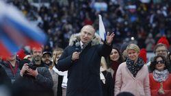 Présidentielle: Poutine promet des «victoires brillantes» à la