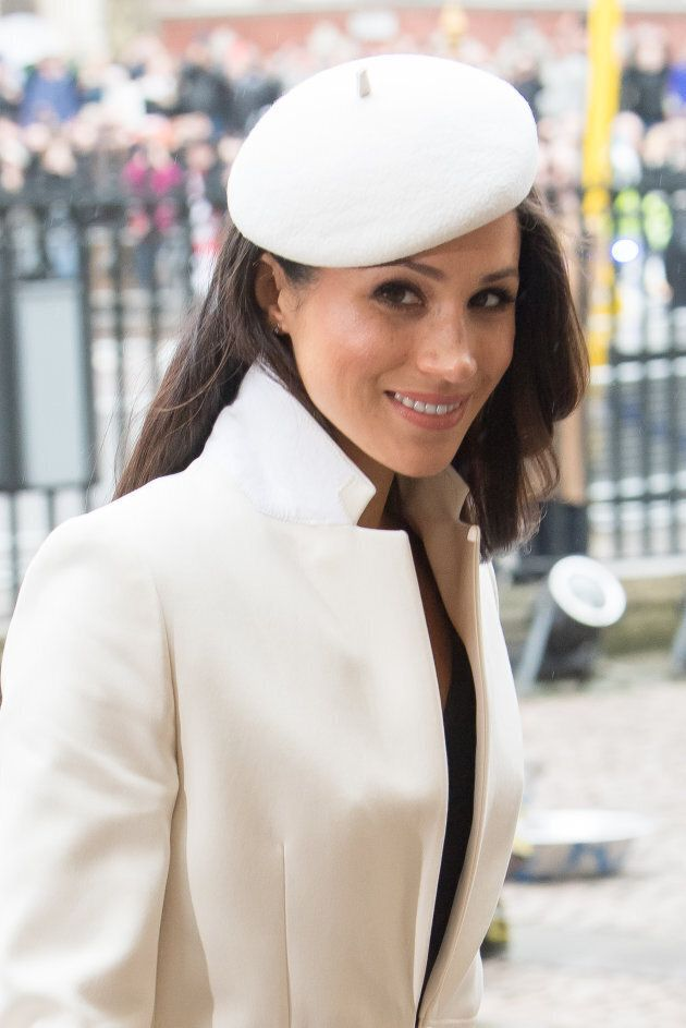 Meghan Markle attends the 2018 Commonwealth Day service at Westminster Abbey on March