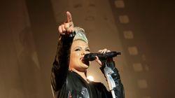 Pink annule son concert prévu vendredi à