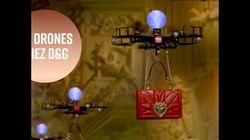 Les drones remplacent les mannequins dans un