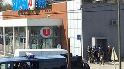 Trois morts à la suite d'une prise d'otages dans un supermarché en