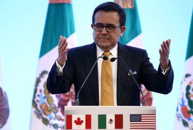 Le ministre mexicain de l'Économie, Ildefonso