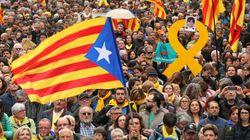 Manifestation houleuse à Barcelone après l'arrestation de