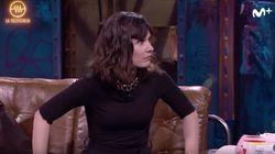 El tenso inicio de entrevista a Nadia de Santiago en 'La