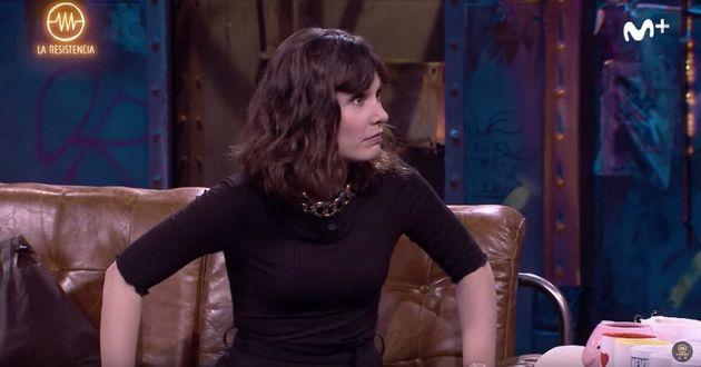 El Tenso Inicio De Entrevista A Nadia De Santiago En La Resistencia