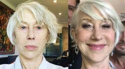 Helen Mirren se dévoile sans maquillage avant les