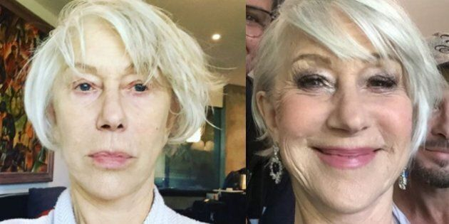 Instagram Helen Mirren