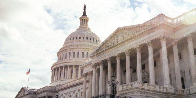 Le Capitole qui sert de siège au Congrès à