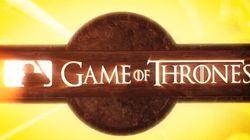 Voici ce que ça donne quand «Game of Thrones» s'allie à la Ligue majeure de