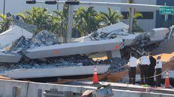 Passerelle effondrée à Miami: plus d'espoir de retrouver de