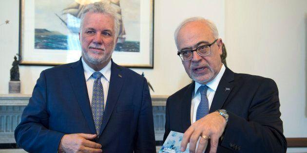 Philippe Couillard et Carlos