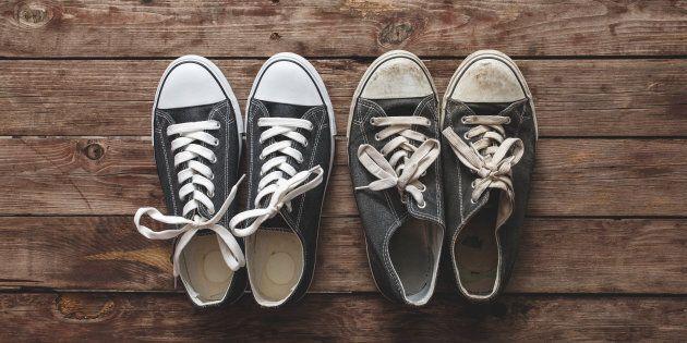Nous voulons des souliers neufs nous
