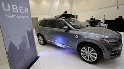 Le nombre de capteurs sur les voitures autonomes Uber en cause après l'accident