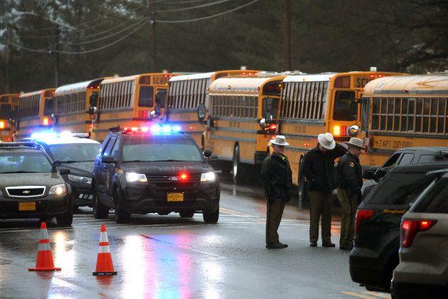 Fusillade dans une école du Maryland près de
