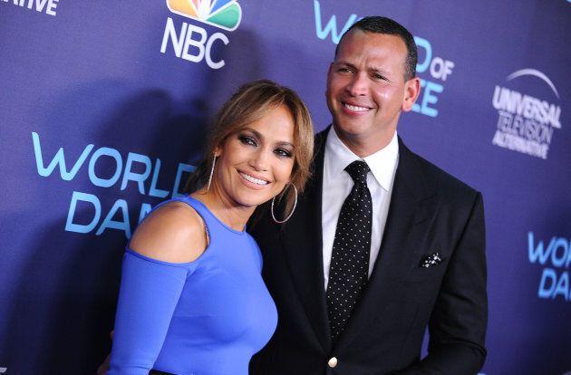 Jennifer Lopez et Alex Rodriguez, ancien jouer étoile de baseball