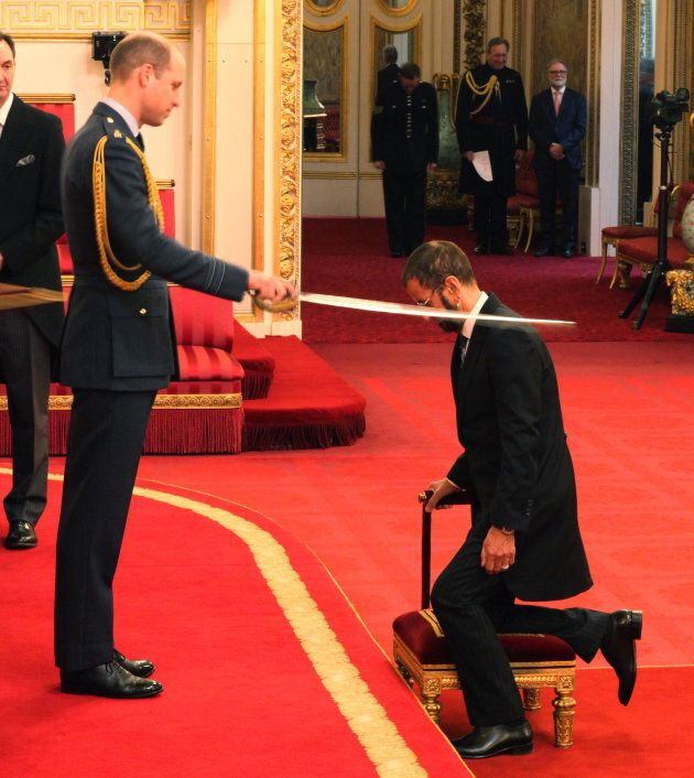 Ringo Star nommé Chevalier par la monarchie