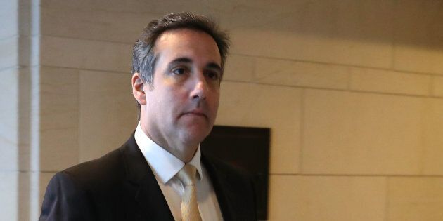 Photo d'archives Michael Cohen, l'avocat de Donald