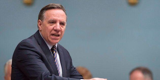 Test de valeurs de la Coalition Avenir Québec: François Legault dénonce les attaques du premier