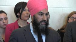 Jagmeet Singh rejette toute forme de violence