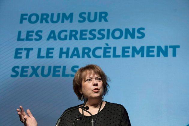 La ministre Hélène David est restée prudente sur le sujet mercredi.