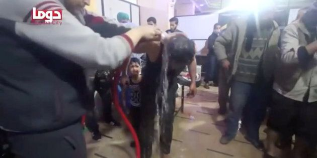La ville de Douma a été la cible d'une attaque chimique présumée, le 7