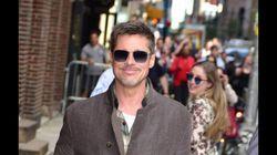 Brad Pitt plus heureux que