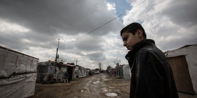 Mohammad, un jeune réfugié syrien âgé de 12 ans, vit au Liban depuis aujourd'hui 6 ans.