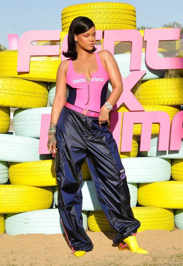 Rihanna lance sa ligne de