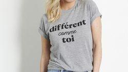 «Différent comme toi» le t-shirt de Véro et Louis qui célèbre la