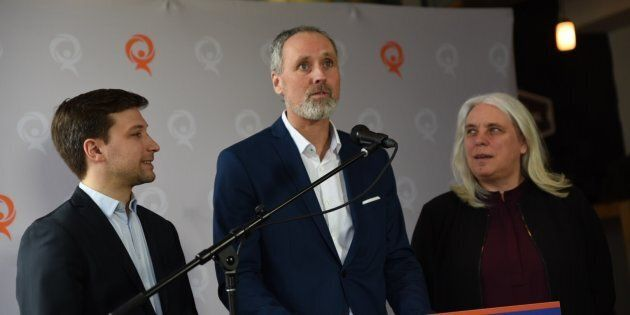 Vincent Marissal a annoncé sa candidature pour Québec Solidaire dans Rosemont.