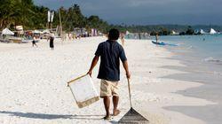Les touristes bannis de l'île de