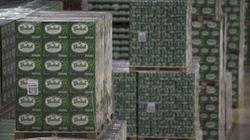 Des voleurs subtilisent un demi-million de dollars... en bière et en boeuf