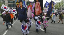 L'ex-présidente sud-coréenne Park Geun-hye condamnée à 24 ans de
