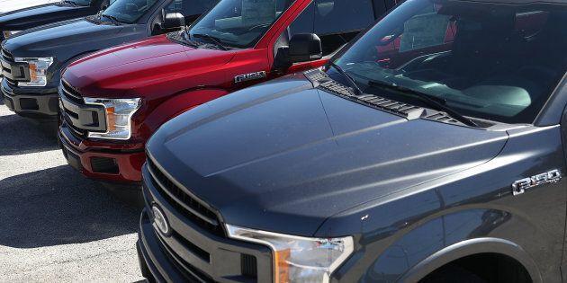 Rappel de plus de 50 000 véhicules Ford au