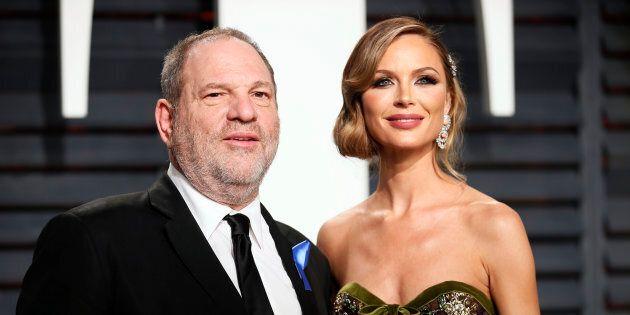 Georgina Chapman, la femme d'Harvey Weinstein, brise le