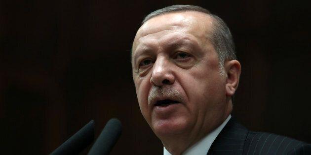 Le président de la Turquie, Recep Tayyip