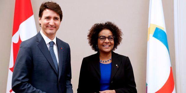 En visite officielle en France où il a été reçu par le président français Emmanuel Macron, le premier...