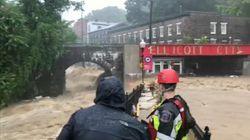 Des inondations monstres ravagent une ville