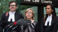 Elizabeth May plaide coupable pour avoir manifesté sur les sites de Kinder