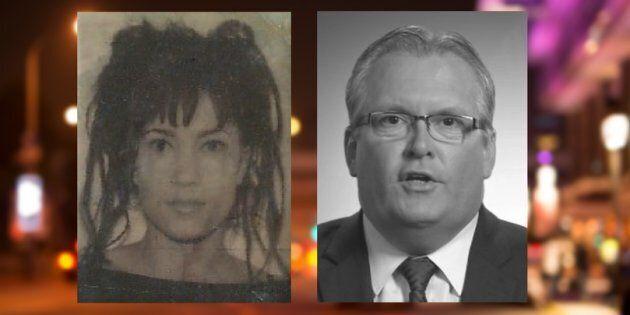 Nathalie St-Denis, vue dans une photo d'identification à l'université, allègue que son cousin, le député...