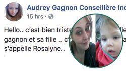 Meurtre de Rosalie: une autre Audrey Gagnon dans la tempête malgré