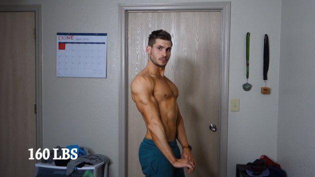 De bedonnant à athlétique en 12 semaines: il livre ses