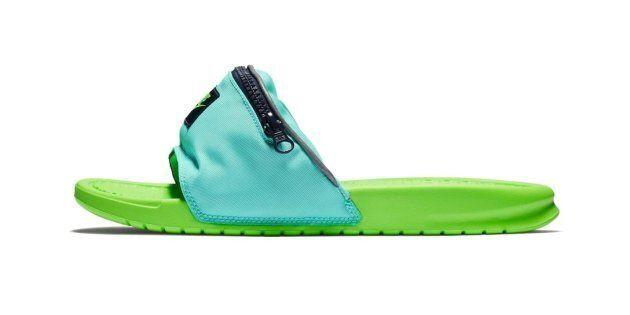 La sandale-banane de Nike, combo improbable de