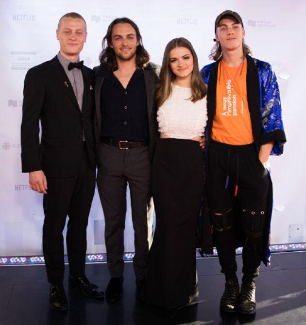 L'acteur Antoine Desrochers a oublié son complet pour le Gala Québec