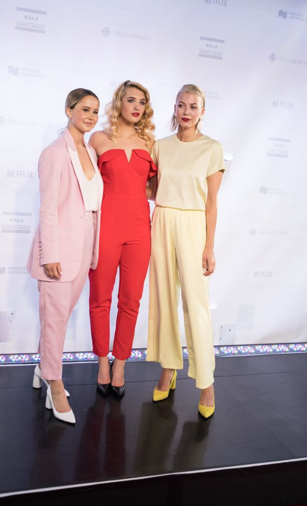 Gala Québec Cinéma: le pantalon est la star de ce tapis