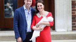 William et Kate ont des emplois spéciaux sur le certificat de naissance de leur
