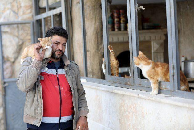 Mohammed Alaa al-Jaleel ( Photo OMAR HAJ KADOUR/AFP/Getty